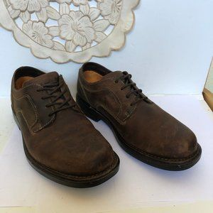 Timberland Men's brown waterproof Lace Up Oxfords